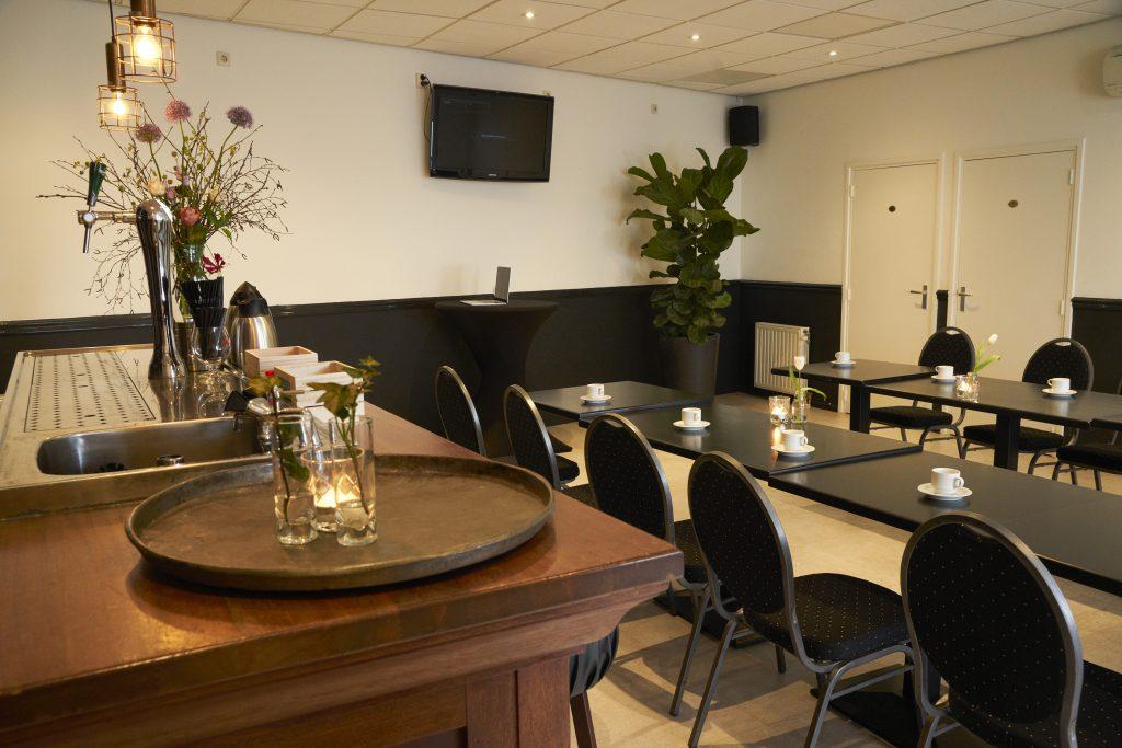 Vergaderen, feestje of receptie in Hotel-Brasserie de Kaai in Steenbergen