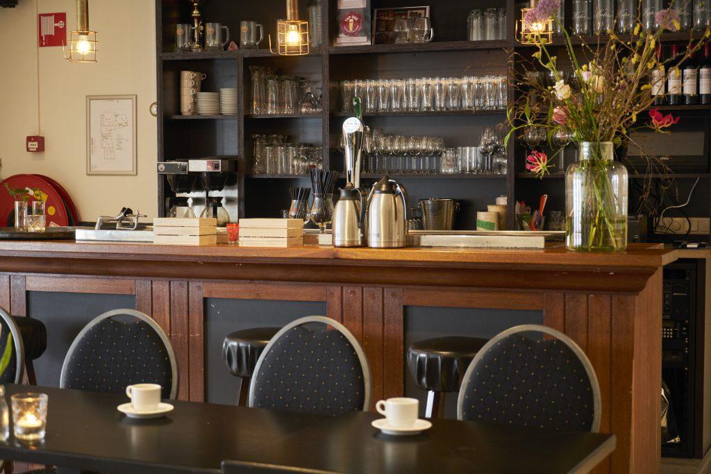 Hotel-Brasserie de Kaai in Steenbergen. Vergaderen, feestje of receptie in Hotel-Brasserie de Kaai in Steenbergen